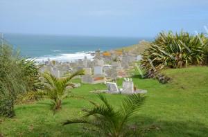 Kyrkogård i Cornwall