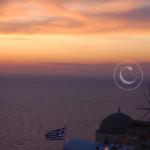 Santorini - solnedgången