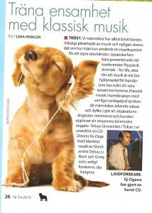 Musik för hunden